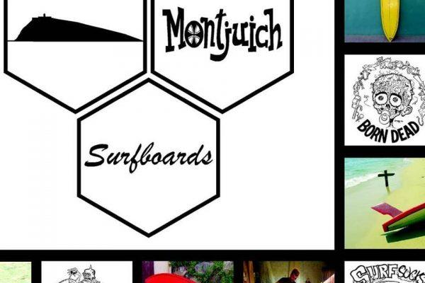 New web Montjuich Surfboards